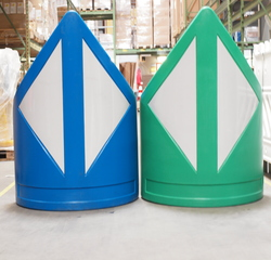 Find our products belonging to the category Traffic Guidance Systems - N-120 Plastic barrier